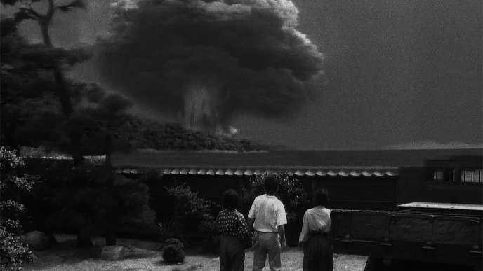 «Pluie noire»(Shohei Imamura, 1989) ou les conséquences ravageuses du nuage radioactif d'Hiroshima.