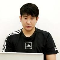 Tomoyuki Sugano speaks during an online interview on Sunday.   YOMIURI GIANTS / VIA KYODO
