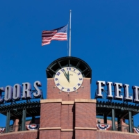 Denver's Coors Field will host the MLB All-Star Game, officials announced Tuesday.   USA TODAY / VIA REUTERS