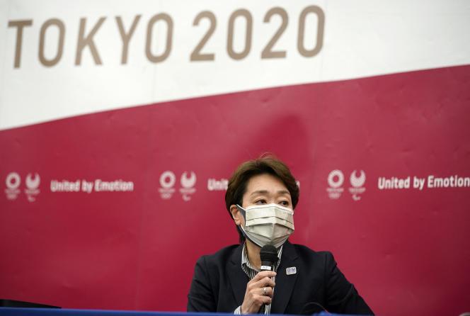 Seiko Hashimoto, la présidente de Tokyo 2020, le 28 avril.